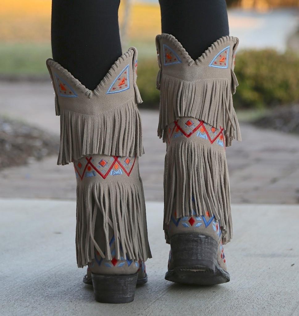 Old Gringo Donadora Bone Boots L2258-1 Heel
