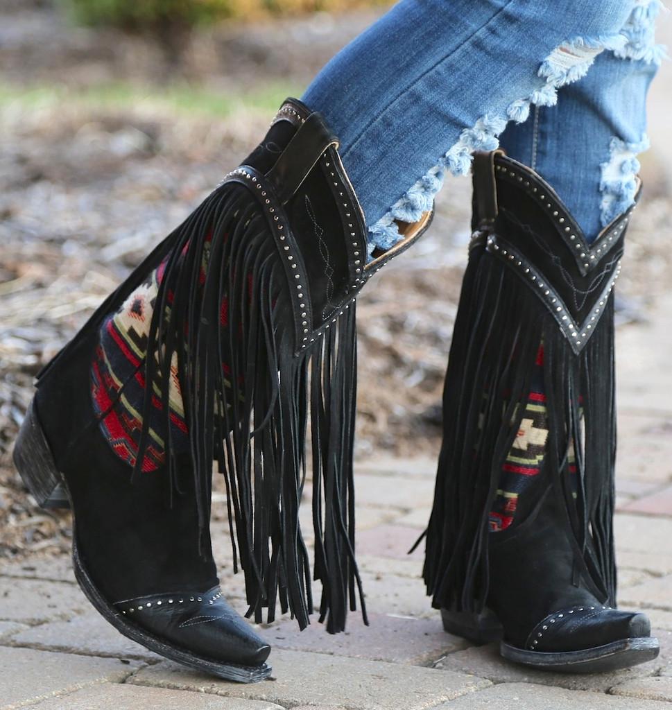 Old Gringo Crudge Black Boots L2257-2 Picture