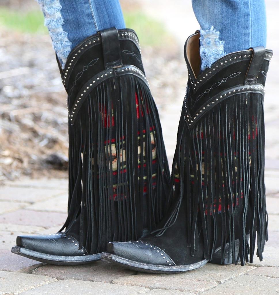 Old Gringo Crudge Black Boots L2257-2 Image