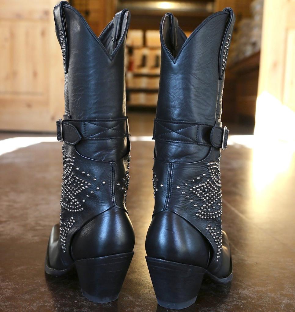 Old Gringo Lola Black Boots L1331-3 Heel