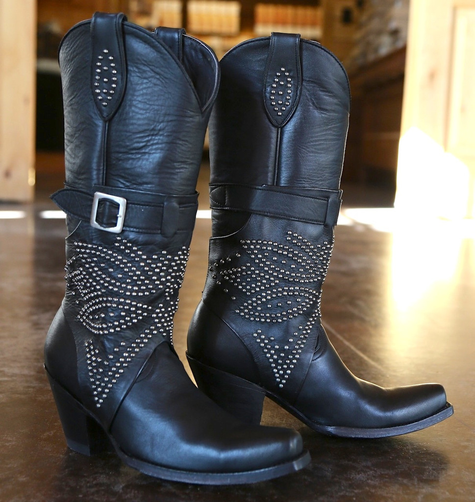 Old Gringo Lola Black Boots L1331-3 Image