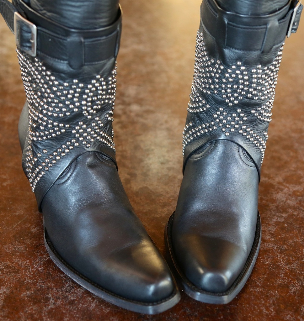 Old Gringo Lola Black Boots L1331-3 Toe
