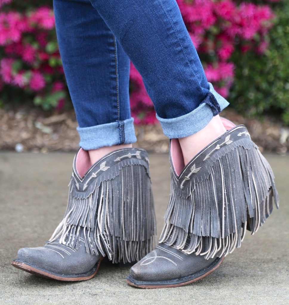 Junk Gypsy by Lane Spitfire Dark Brown Boots JG0007A Picture