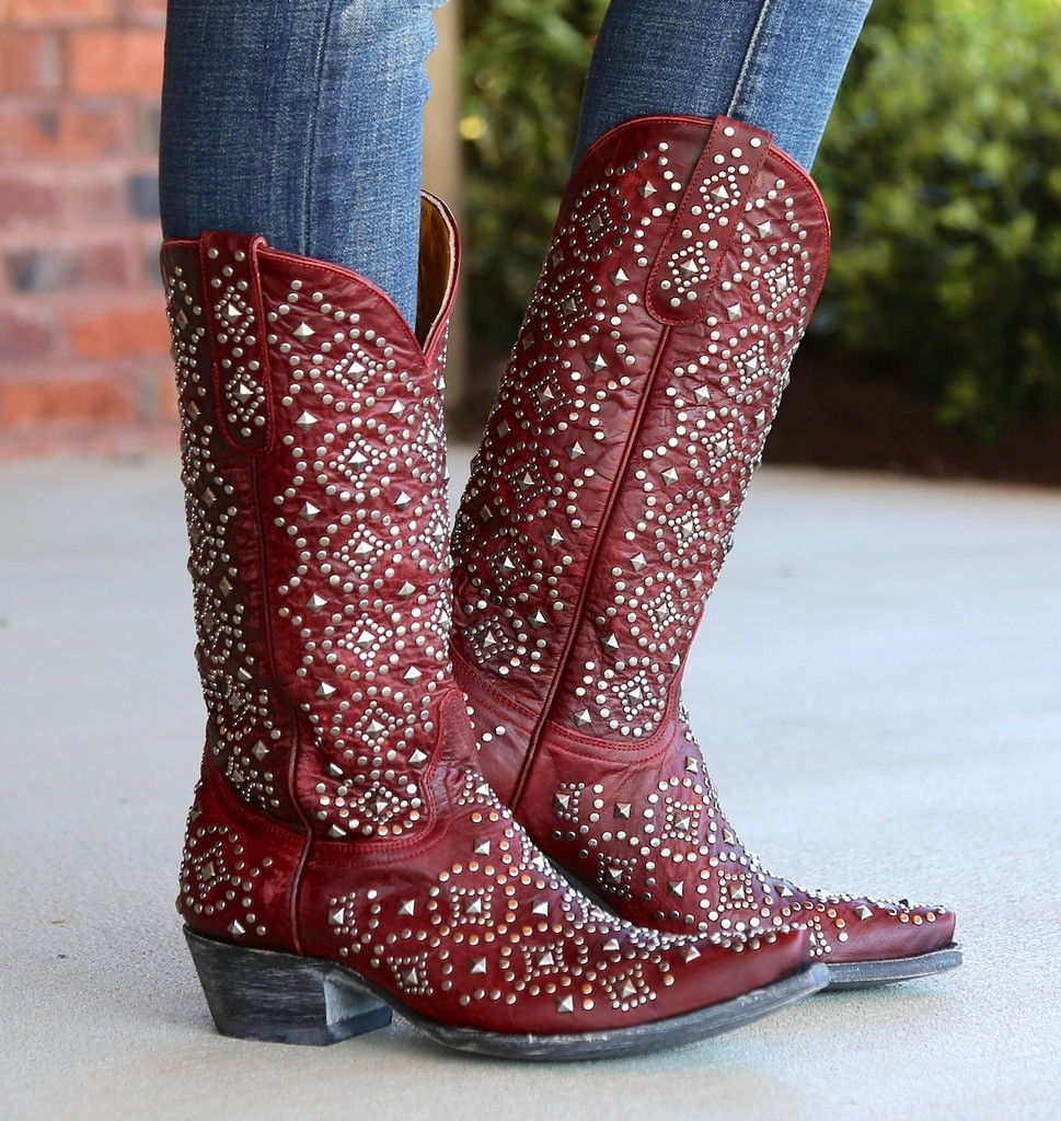 Old Gringo Difama Red Boots L2006-1 Picture