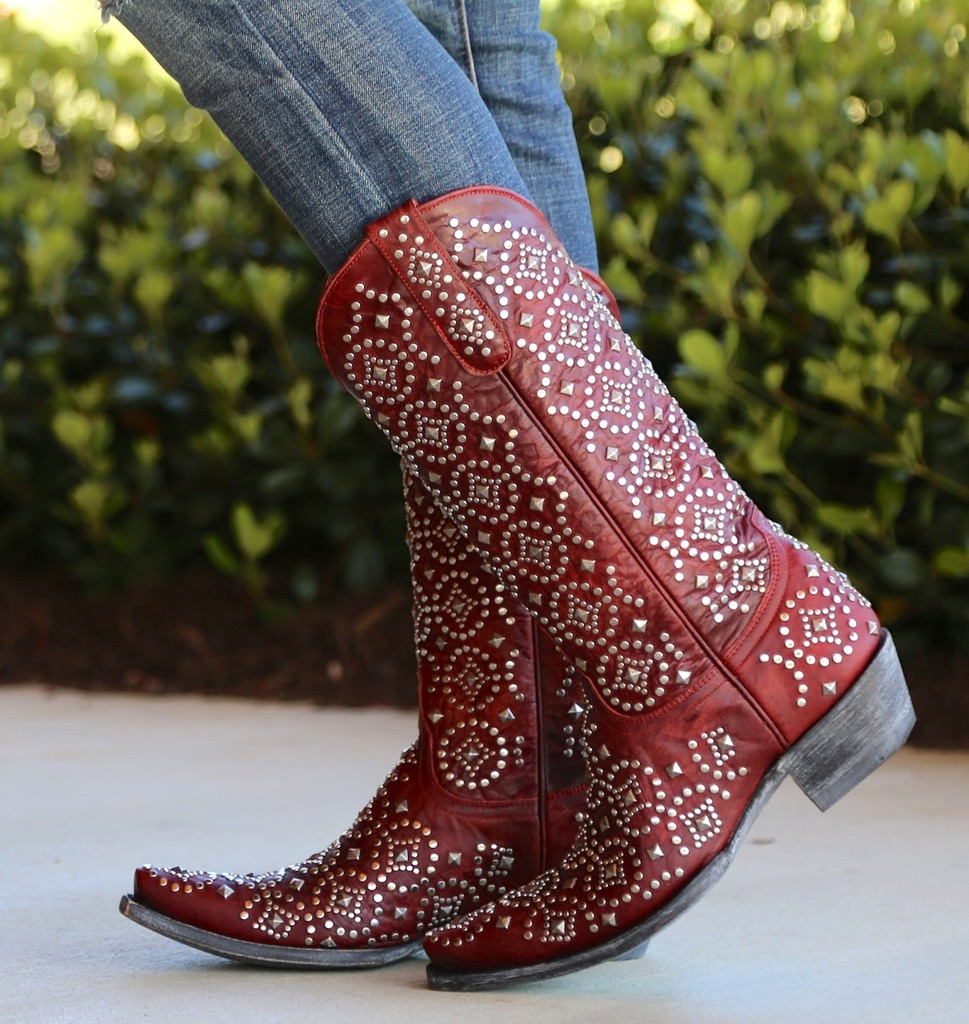Old Gringo Difama Red Boots L2006-1 Image