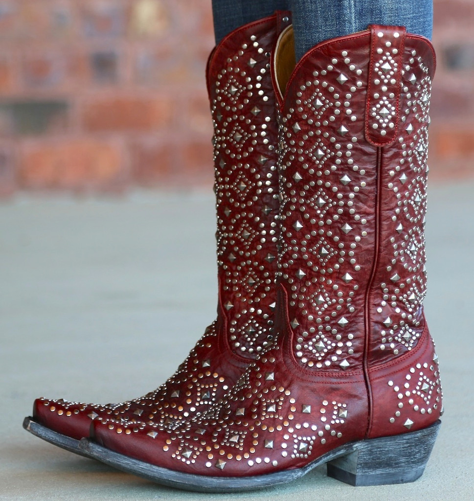 Old Gringo Difama Red Boots L2006-1 Side