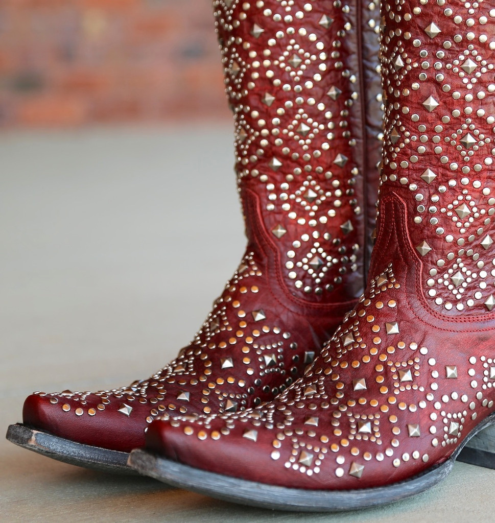 Old Gringo Difama Red Boots L2006-1 Toe