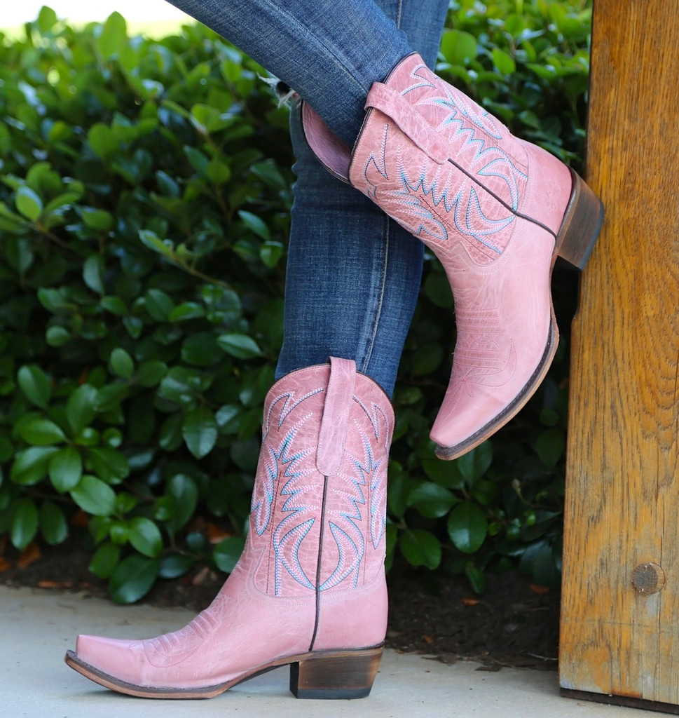 Junk Gypsy by Lane Dirt Road Dreamer Pink Boots JG0003F Photo