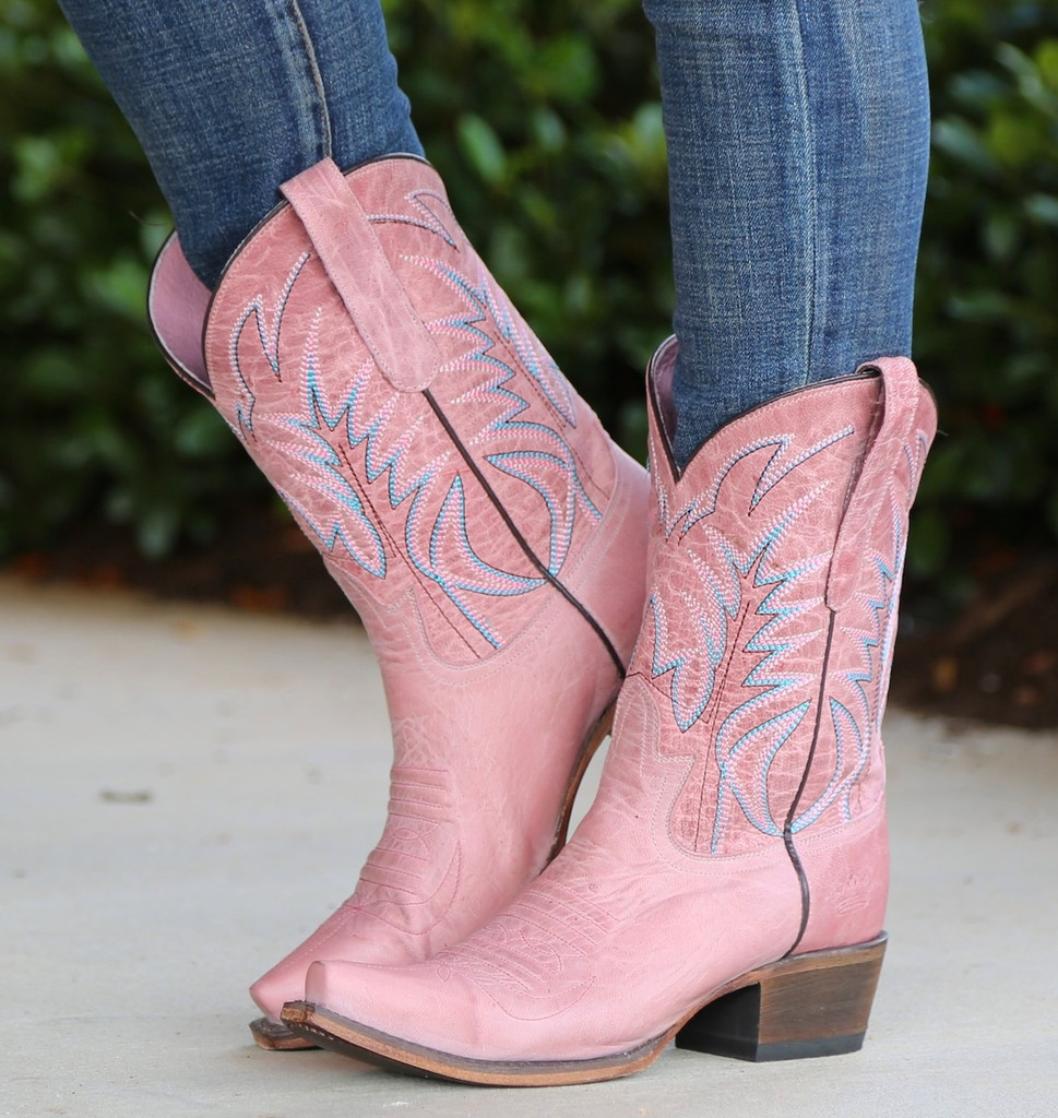 Junk Gypsy by Lane Dirt Road Dreamer Pink Boots JG0003F Picture