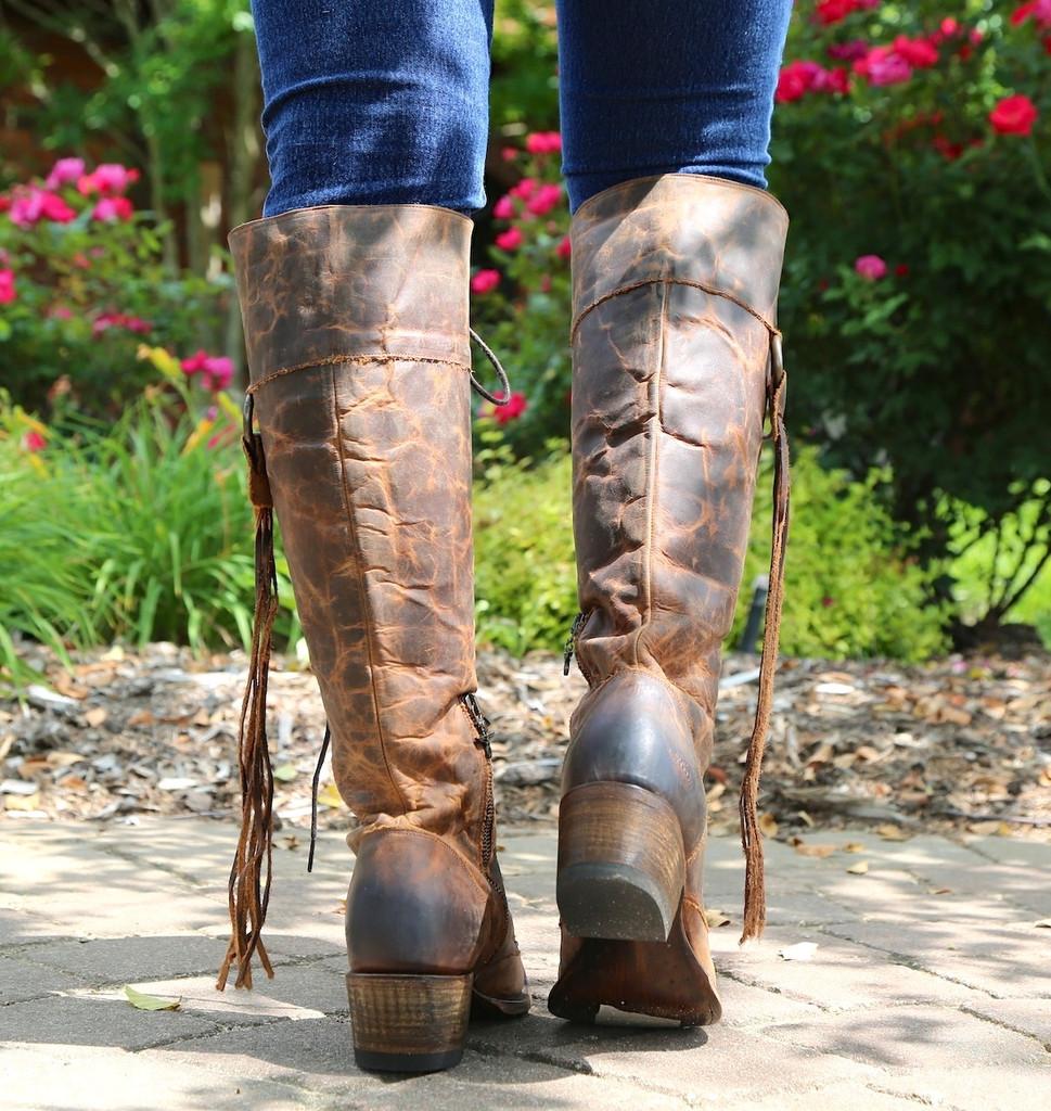 Junk Gypsy by Lane Trailblazer Brick-Toned Boots JG0010C Heel