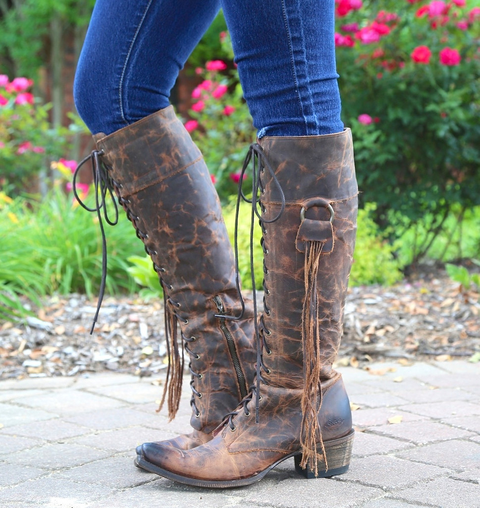 Junk Gypsy by Lane Trailblazer Brick-Toned Boots JG0010C Picture