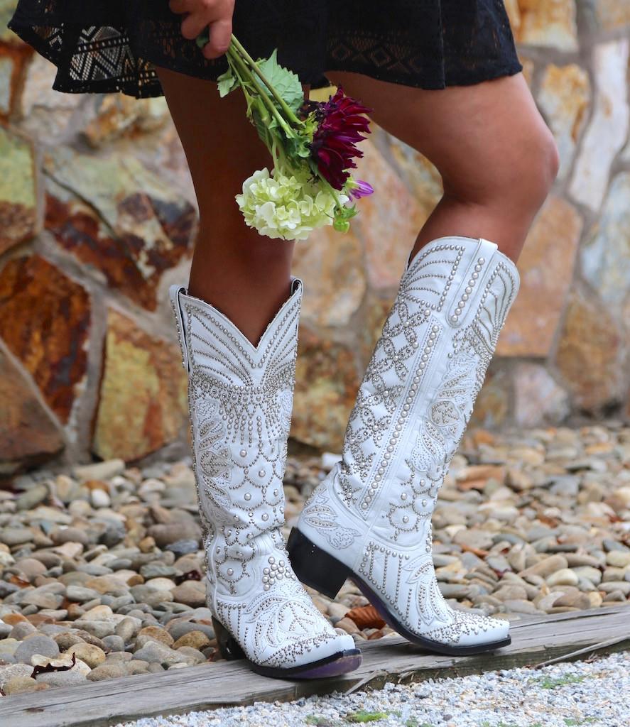 Kippys by Lane Boots Victoria Pearl White - KP0007A Photo