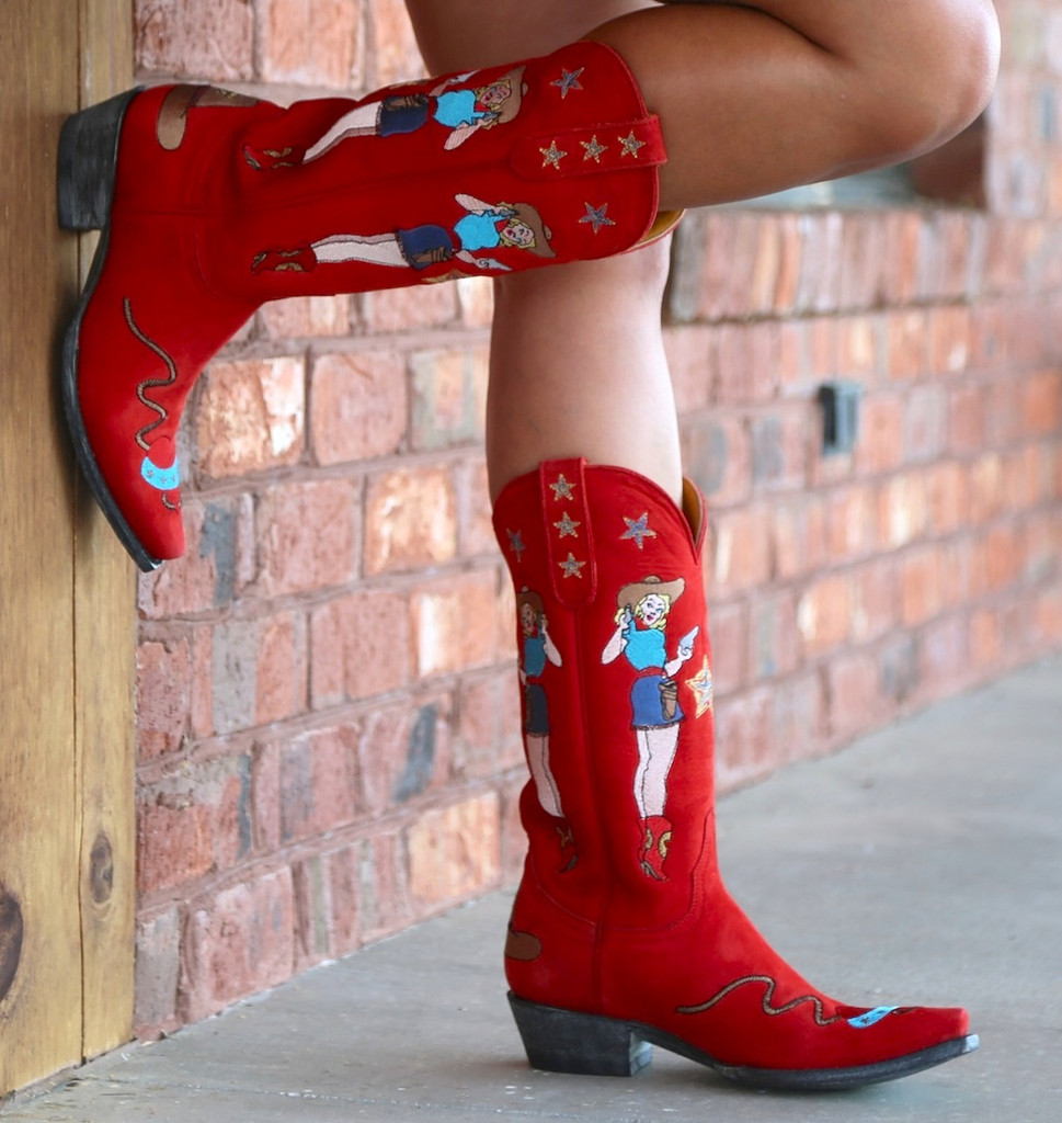 Old Gringo Cowgirl Guns Red L2458-2 Picture