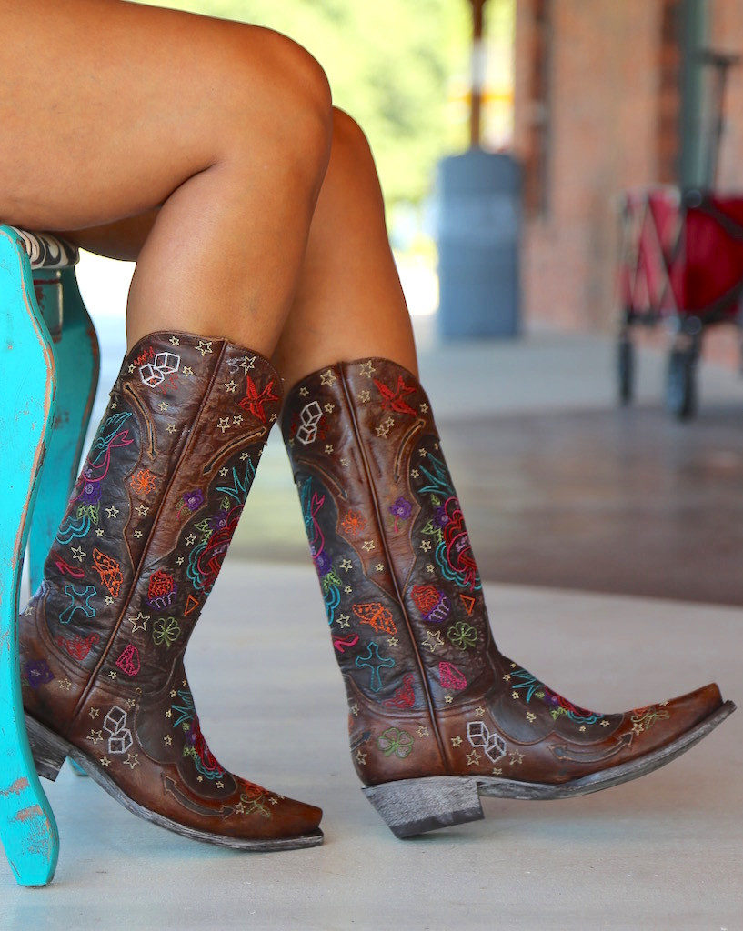 Old Gringo True Love Chocolate Boots L2467-1 Chair