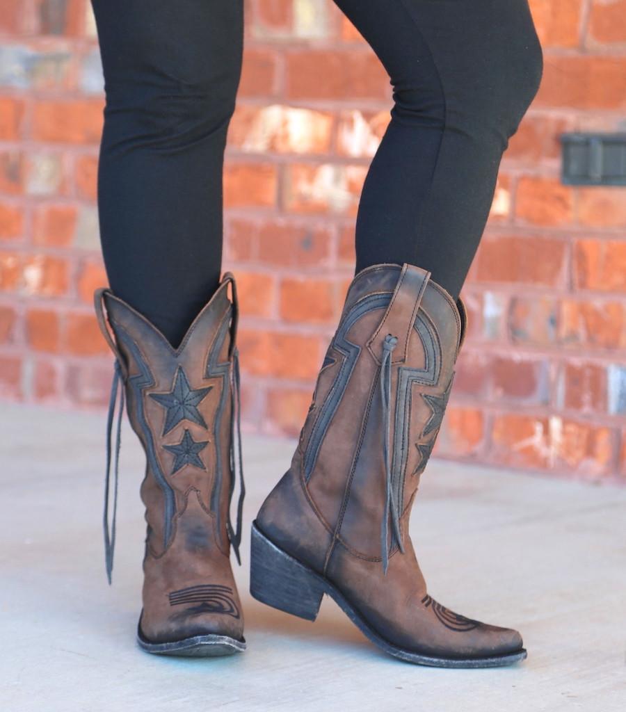 Liberty Black Star Vegas T Moro LB712920 Boots