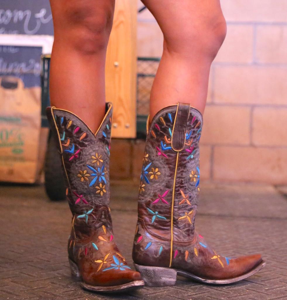 Old Gringo Namida Brass Boots L2629-1 Photo