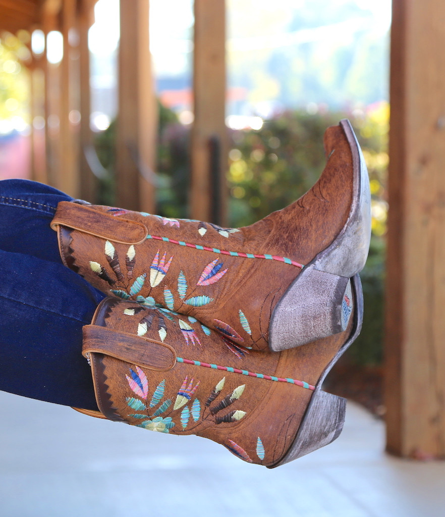 Yippee by Old Gringo Amitola Brass Boots YL188-8 Image