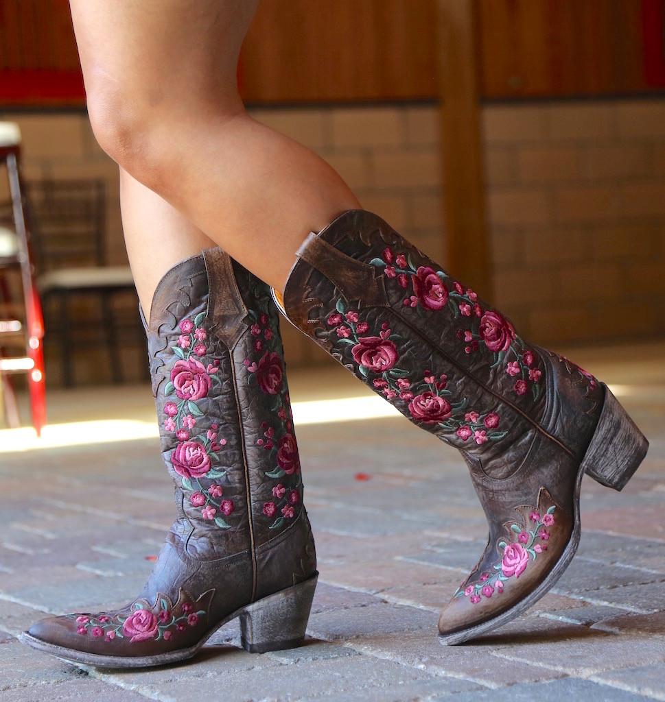 Old Gringo Martina Pink Chocolate Boots L2468-2 Walk
