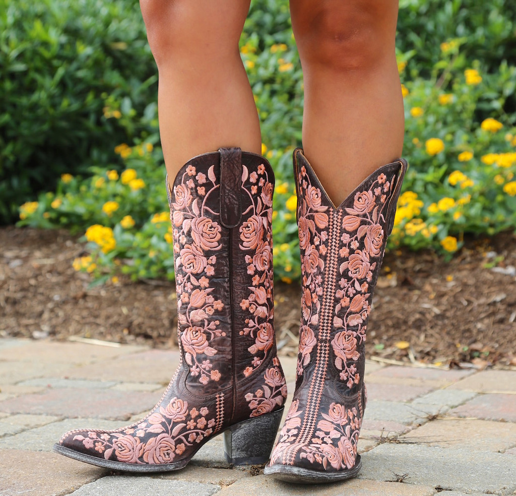 Old Gringo Sterling Chocolate Boots L1973-2 Image