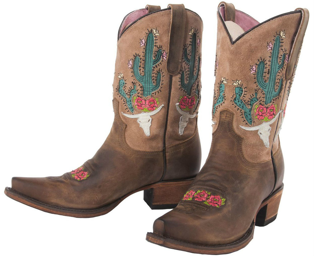 Junk Gypsy by Lane Bramble Rose Brown with Tan Suede JG0015B Manufacturers Image