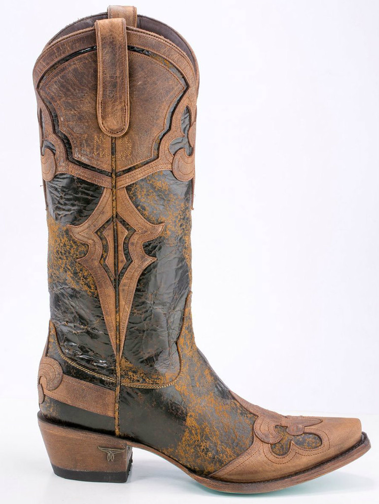 Masquerade by Lane in Brown/Tan LB0338A Side Image