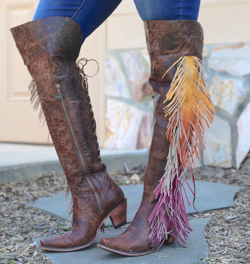 Junk Gypsy by Lane Spirit Animal Brown Boots JG0022A Image