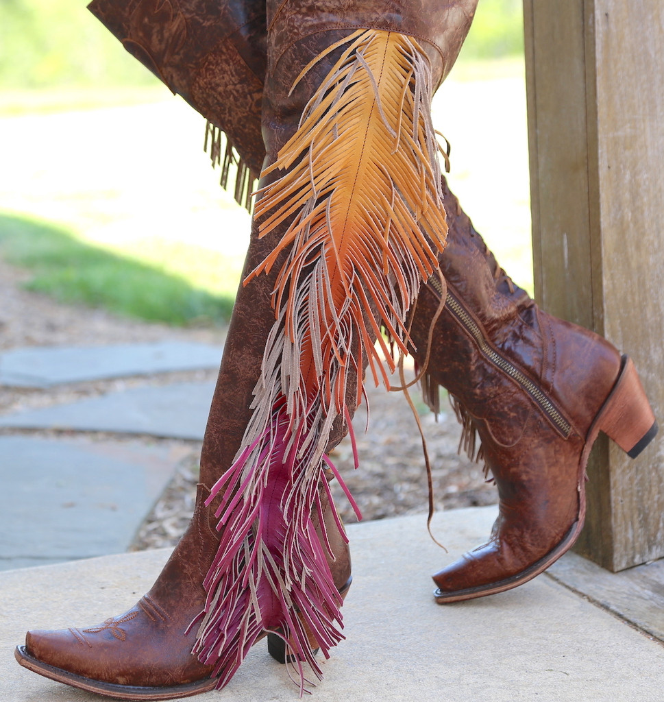 Junk Gypsy by Lane Spirit Animal Brown Boots JG0022A Picture