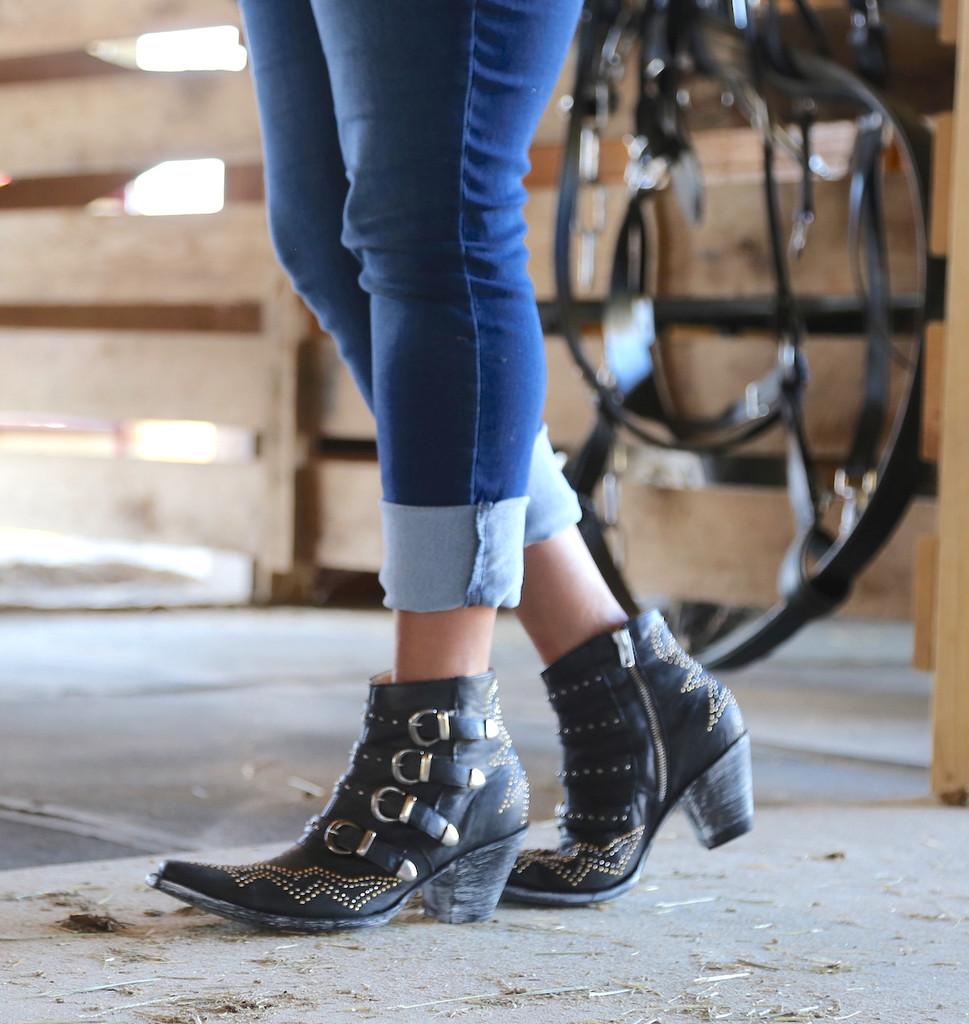 Old Gringo Roxy Black Boots BL2794-1 Image