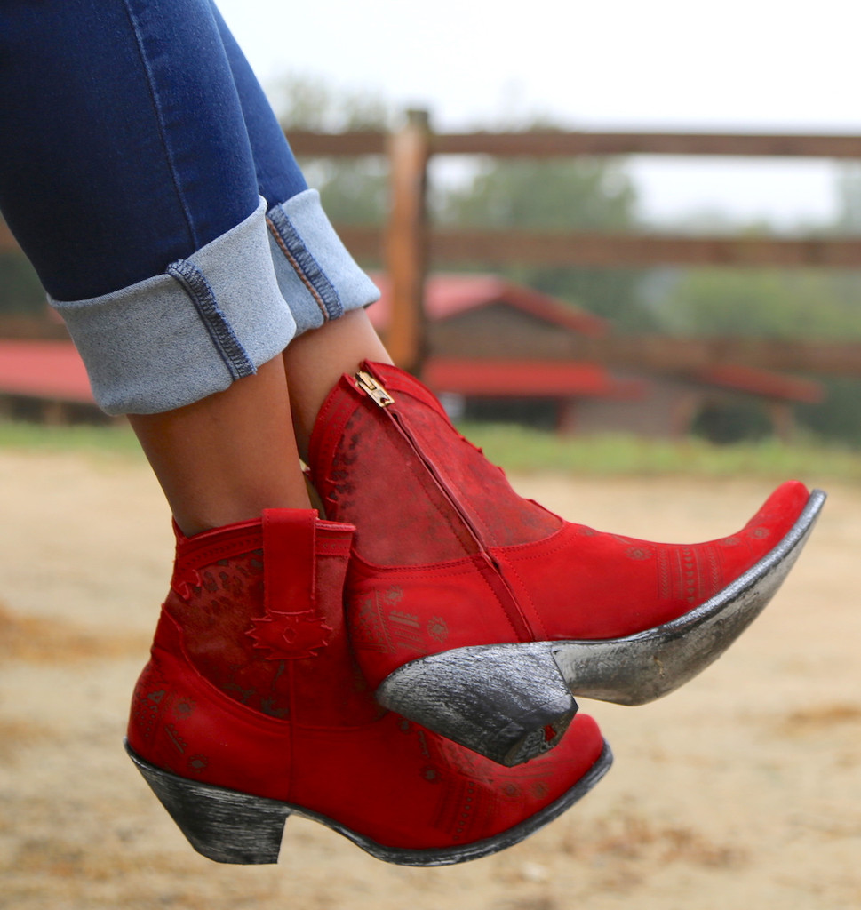 Yippee by Old Gringo Atenea Red Boots YL250-3 Photo