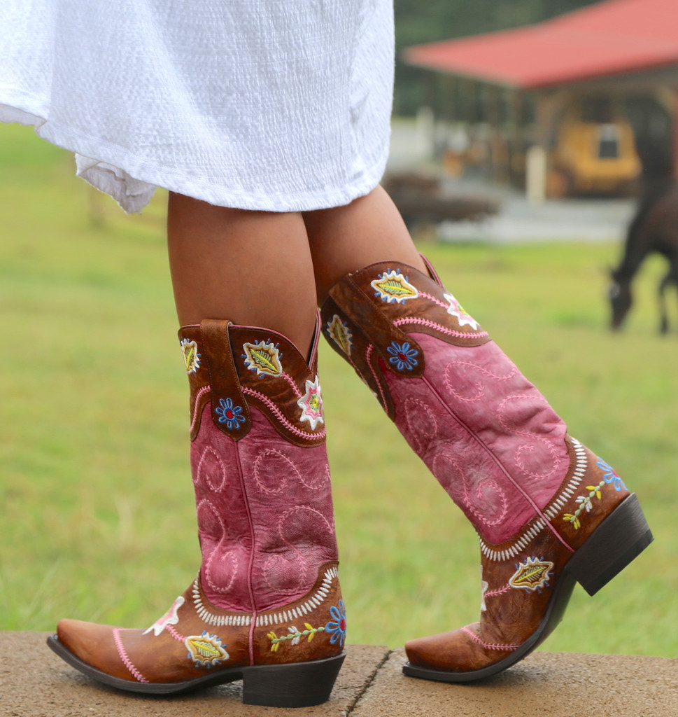 Yippee by Old Gringo Hipolita Boots YL270-3 Walk