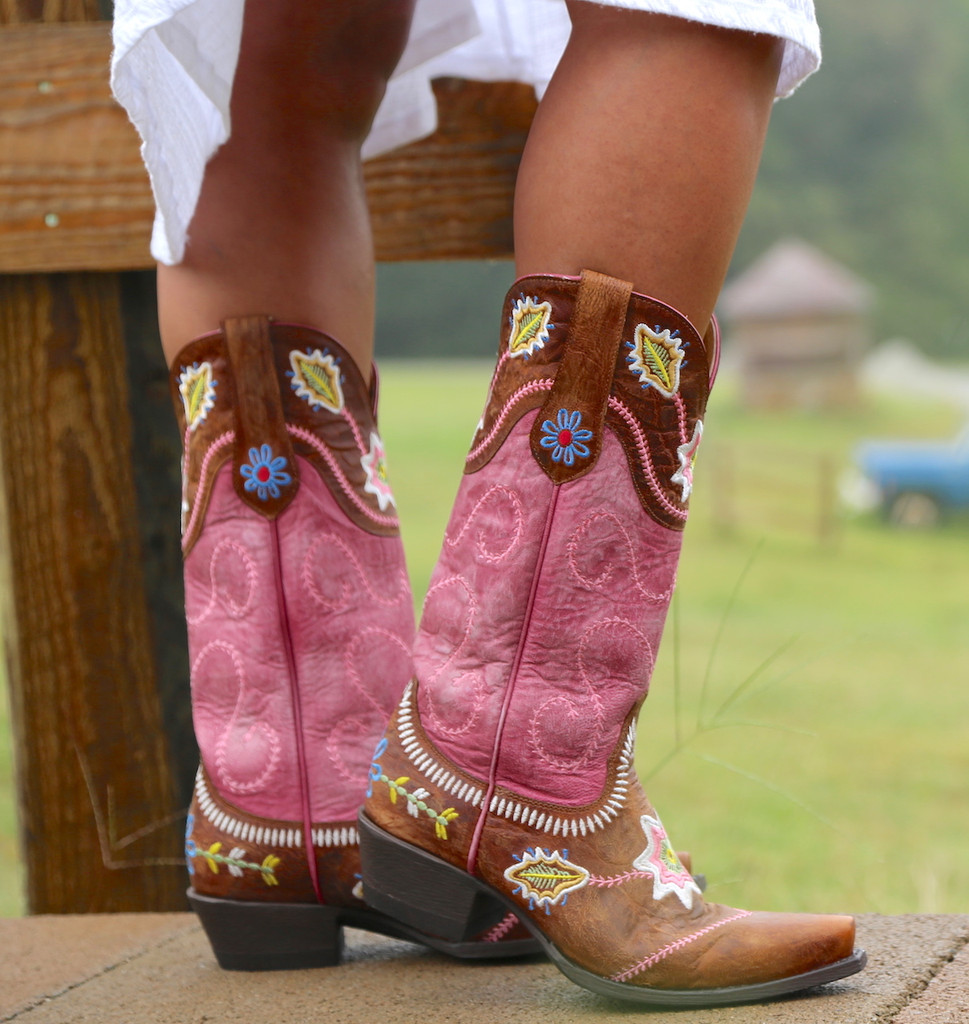 Yippee by Old Gringo Hipolita Boots YL270-3 Side