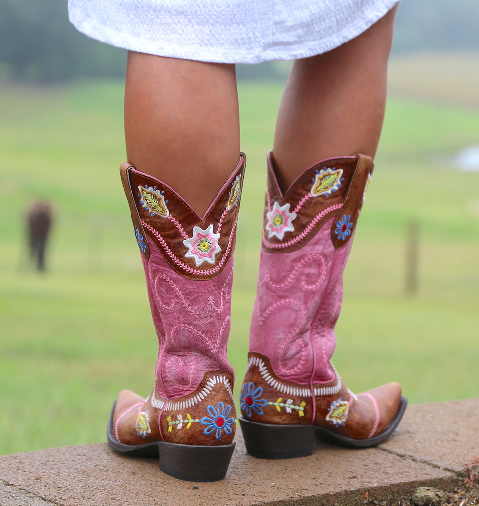 Yippee by Old Gringo Hipolita Boots YL270-3 Heel