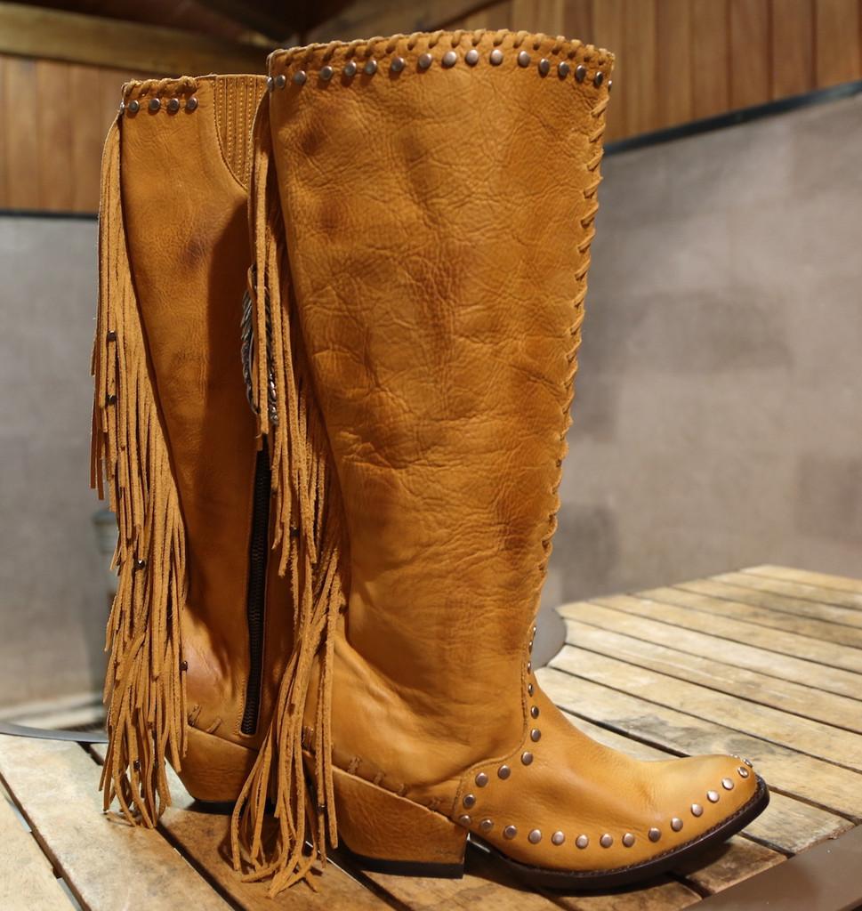 Double D by Old Gringo Spirit Quest Boots DDL012-1 Side