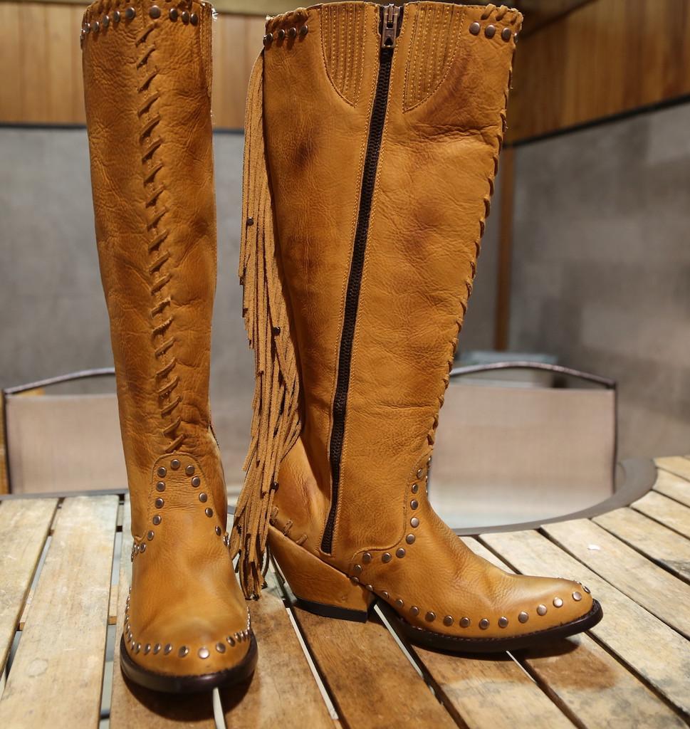 Double D by Old Gringo Spirit Quest Boots DDL012-1 Image