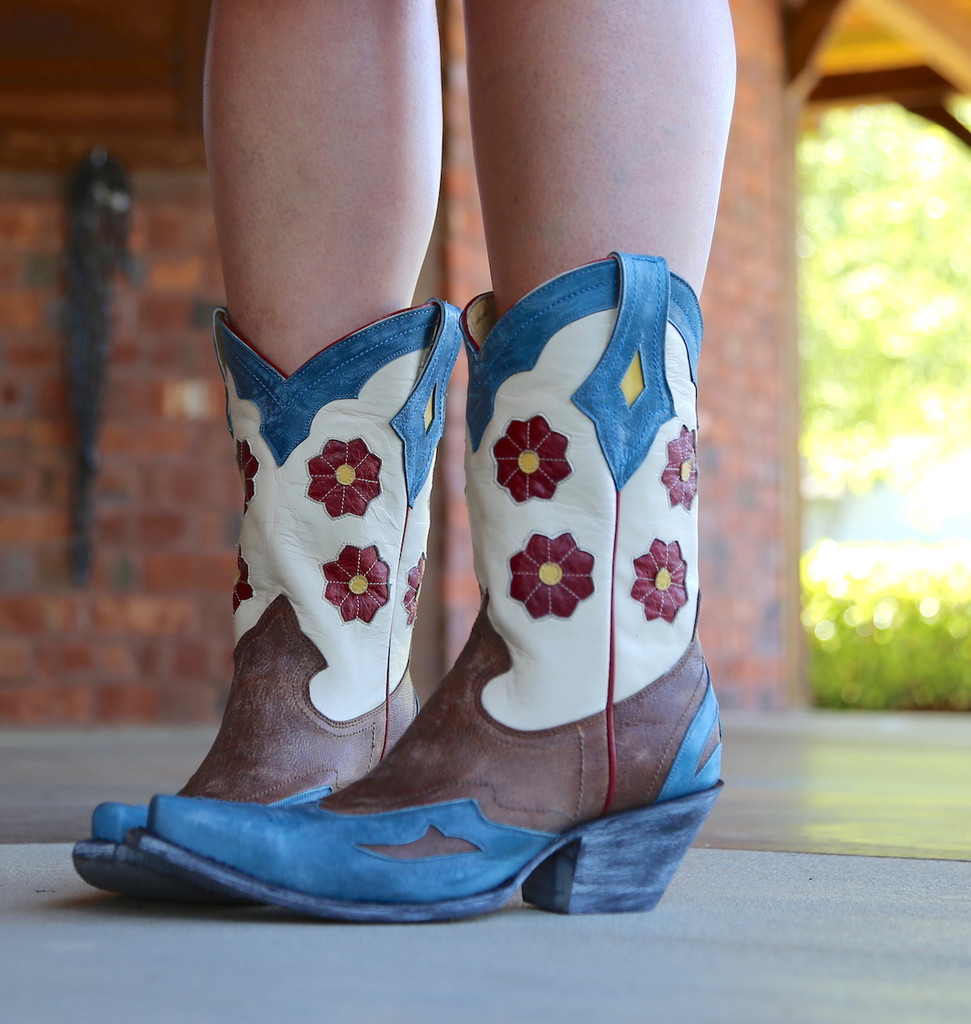 Yippee Ki Yay by Old Gringo Lovell Boots YL232-1 Image