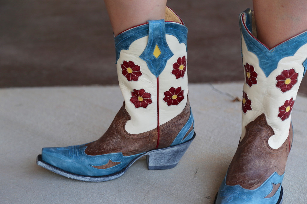 Yippee Ki Yay by Old Gringo Lovell Boots YL232-1 Toe