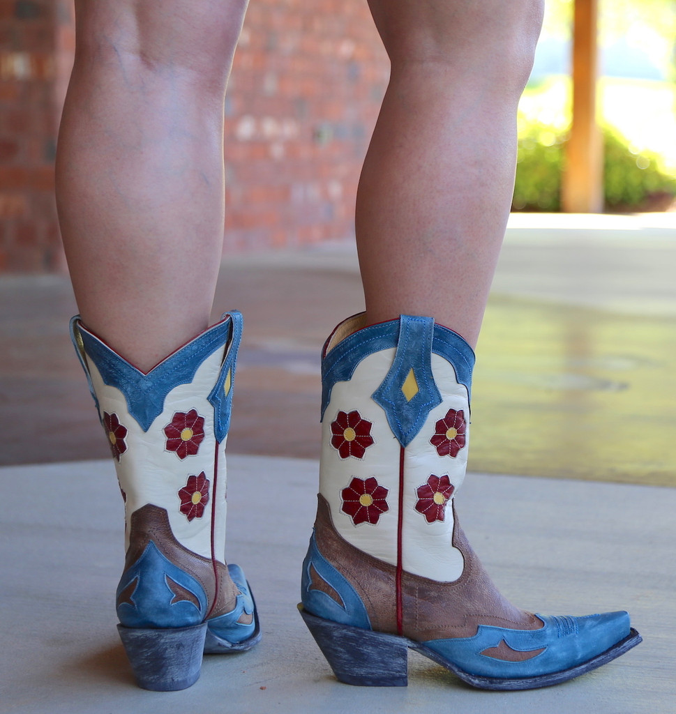 Yippee Ki Yay by Old Gringo Lovell Boots YL232-1 Heel