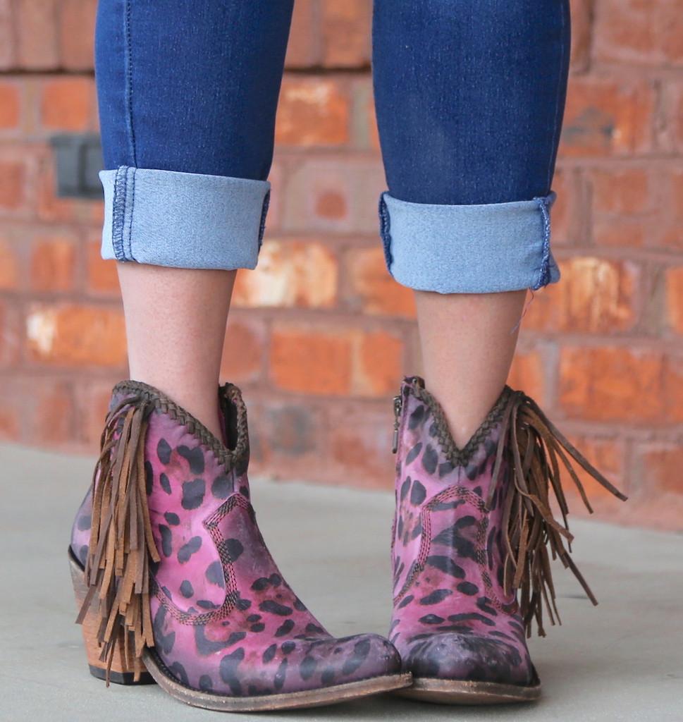 Liberty Black Chita Lipstick Boots LB712320 Toe