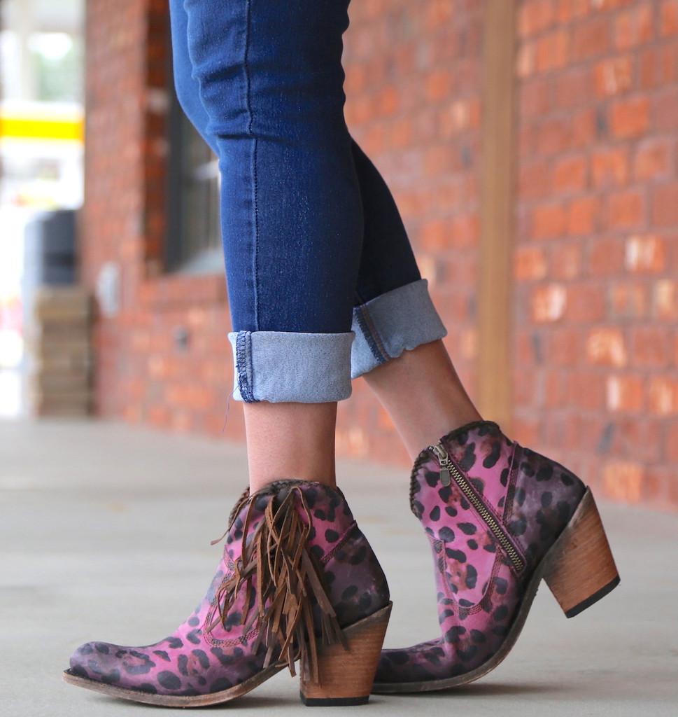Liberty Black Chita Lipstick Boots LB712320 Walk