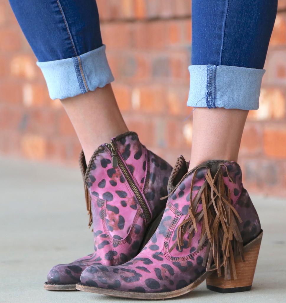Liberty Black Chita Lipstick Boots LB712320 Image