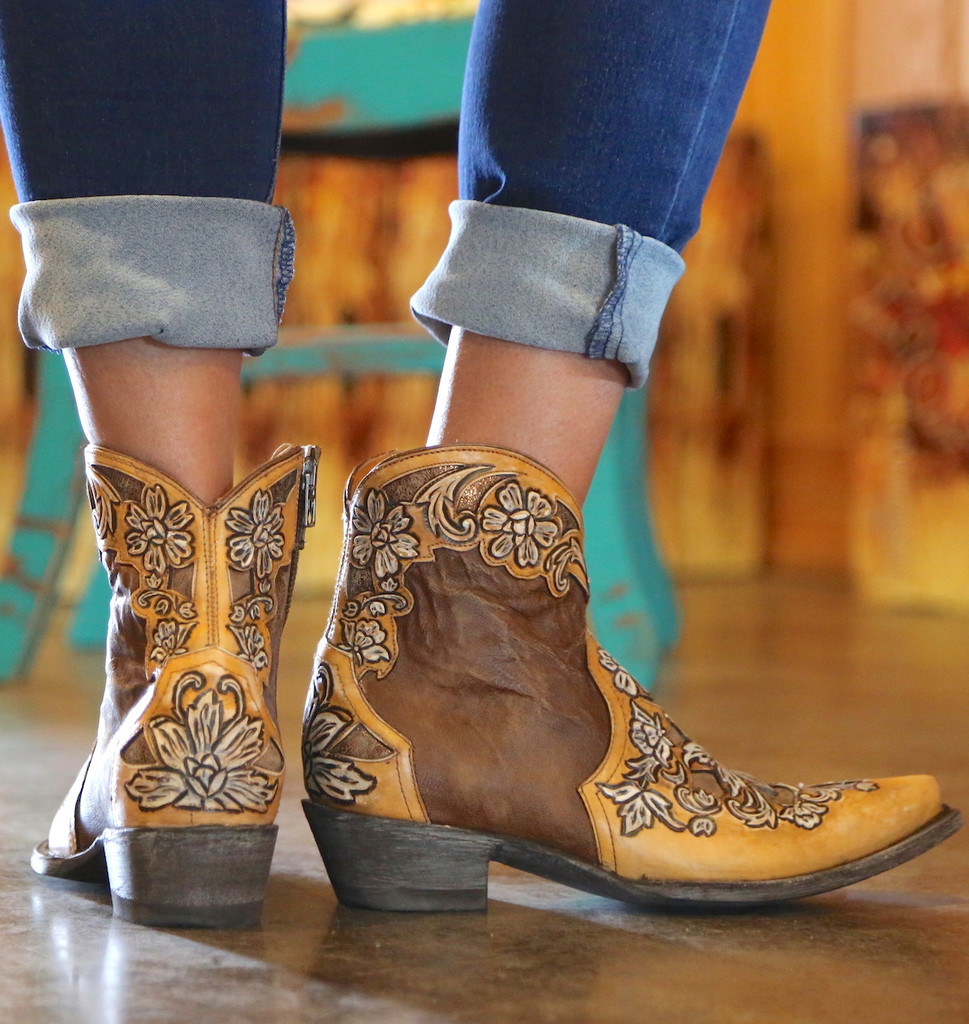 Old Gringo Aster Short Oryx Boots BL2950-2 Heel