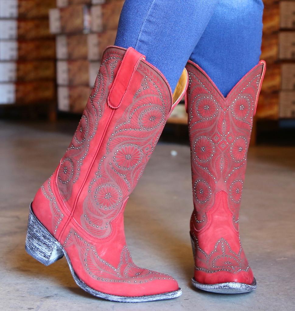 Old Gringo Valentine Red Boots L2774-2 Image
