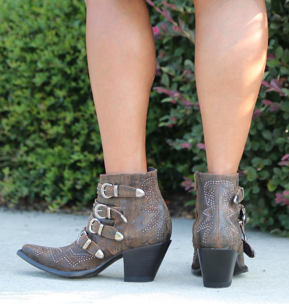 Old Gringo Roxy Rust Boots BL2794-8 Heel
