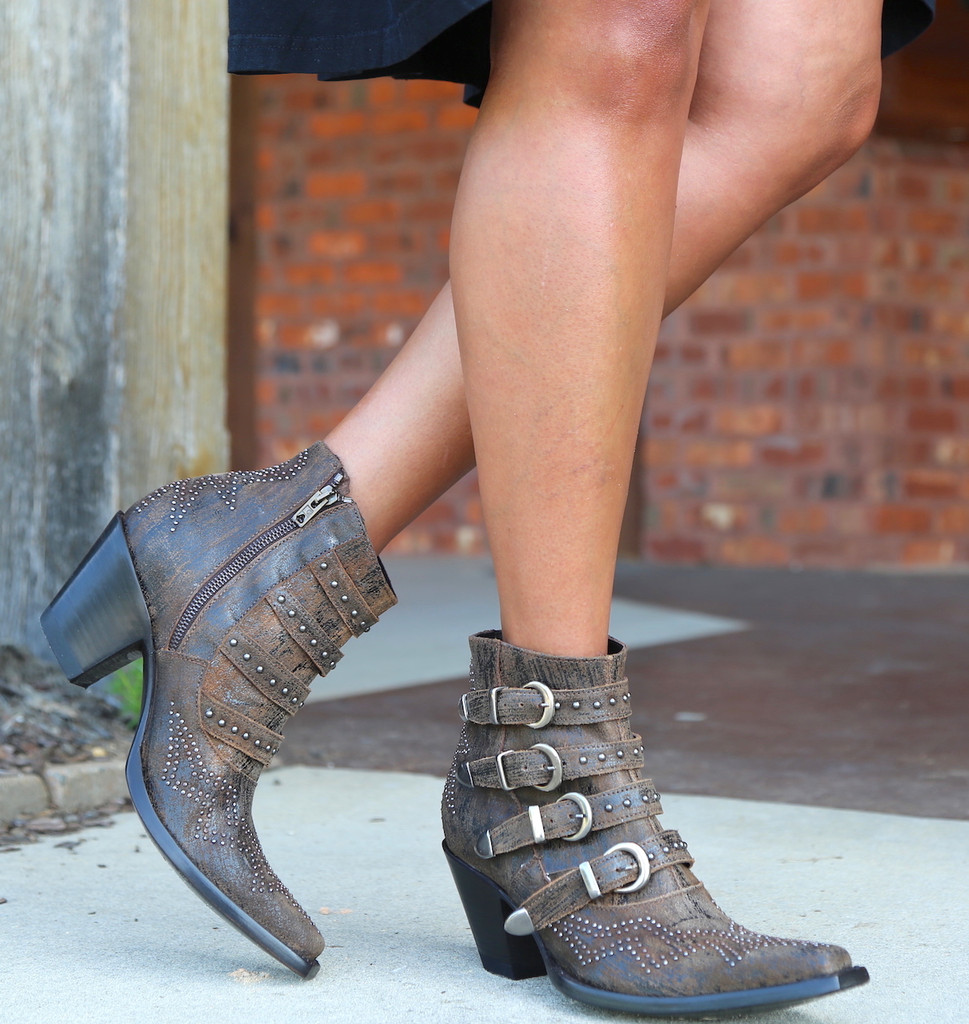 Old Gringo Roxy Rust Boots BL2794-8 Toe