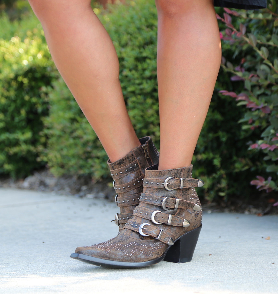 Old Gringo Roxy Rust Boots BL2794-8 Buckles