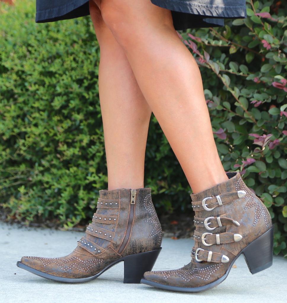 Old Gringo Roxy Rust Boots BL2794-8 Walk