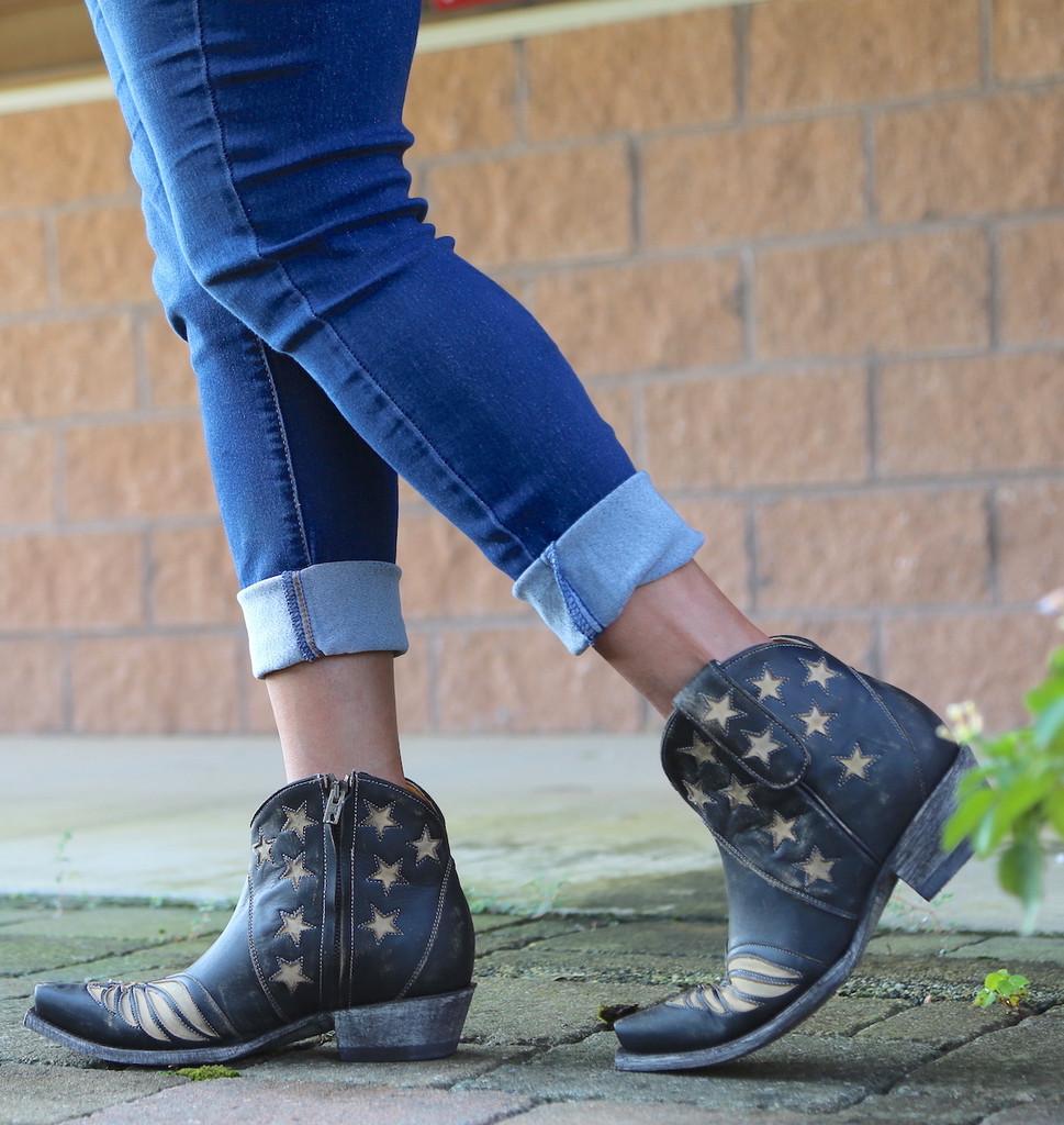 Old Gringo United Short Rustic Beige Boots BL2976-2 Image