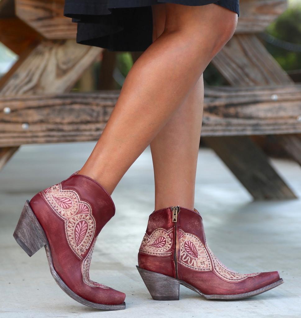 Old Gringo Bianca Wine Boots BL2978-1 Image