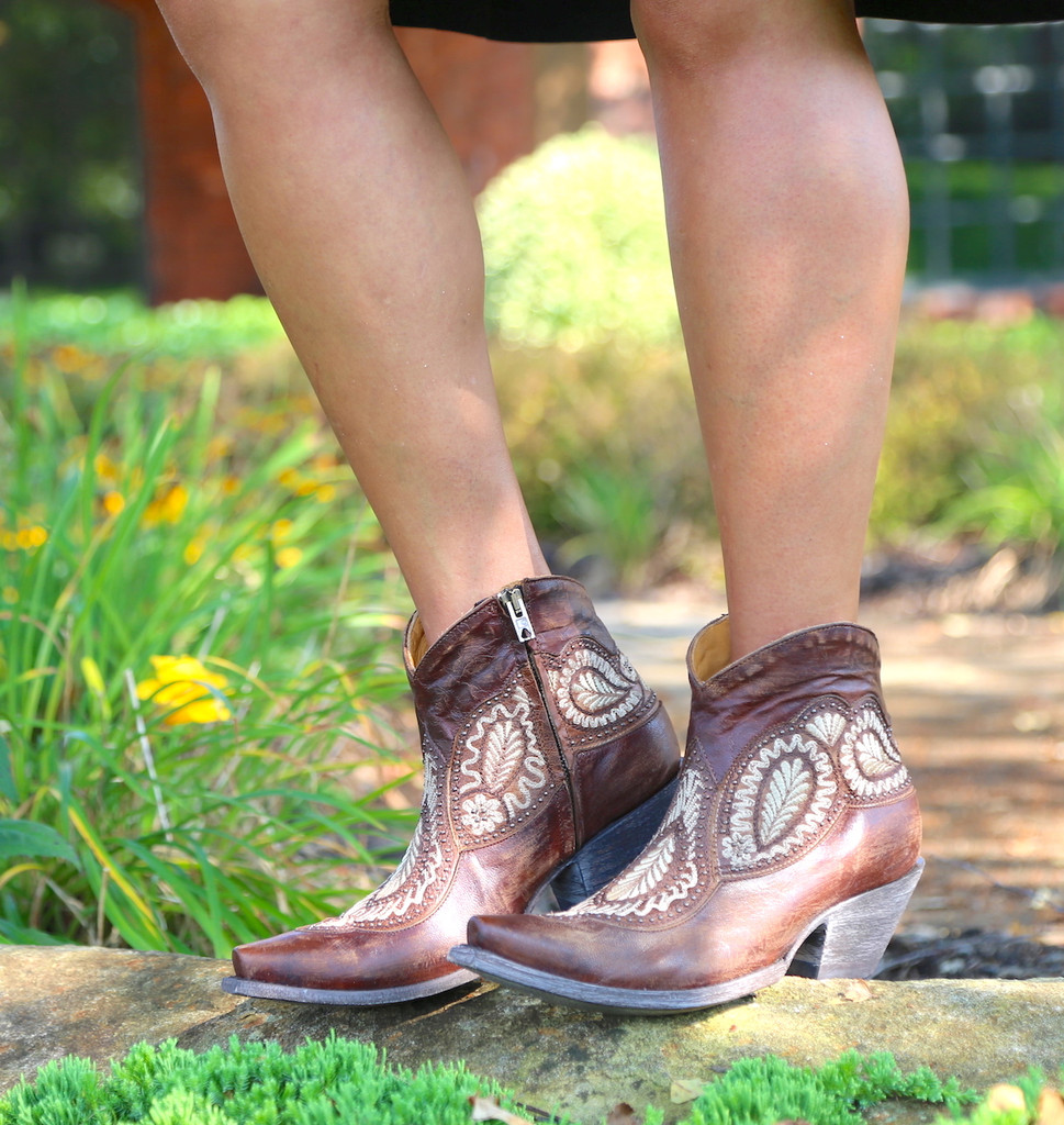 Old Gringo Bianca Oryx Boots BL2978-3 Image