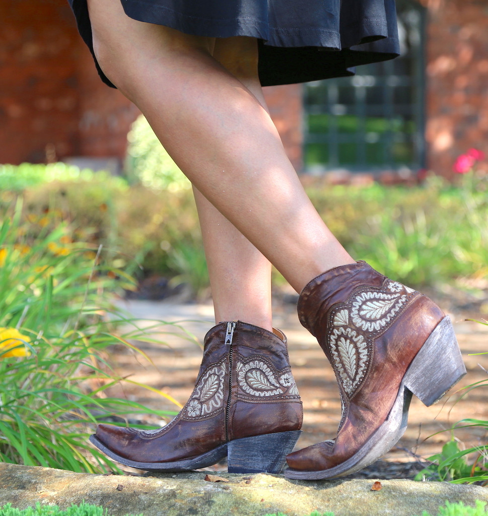 Old Gringo Bianca Oryx Boots BL2978-3 Picture
